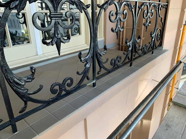metal railing repair